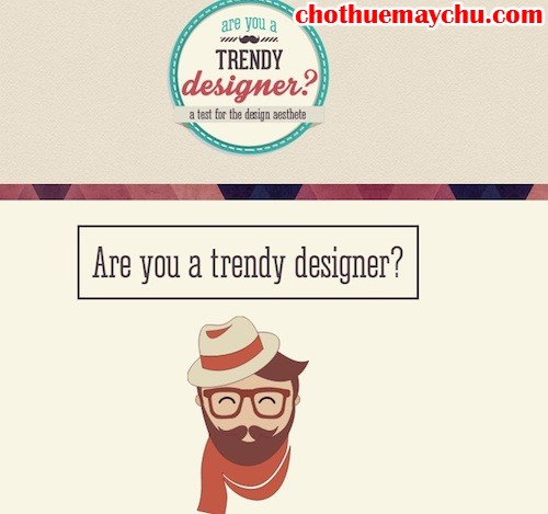 are you a trendy designer